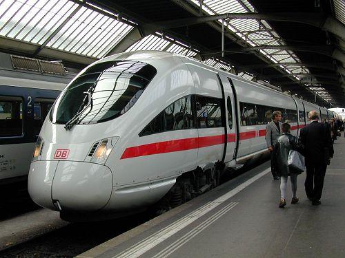 DB ICE (Inter-City Express) train